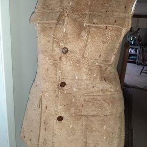 Vintage Henry Thiery Jacket vest belgium